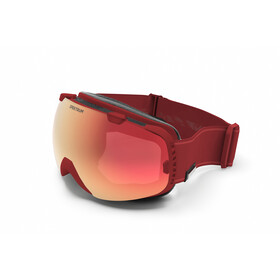 Spektrum G002 Essential Goggles, brique/brown mirror revo red